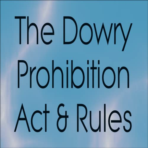 Dowry Prohibition Act & Rules