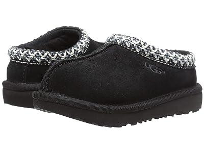UGG Kids Tasman II (Toddler/Little Kid/Big Kid) (Black) Kids Shoes