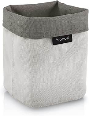 Blomus Reversible Storage Basket-Sand-Anthracite-Lg