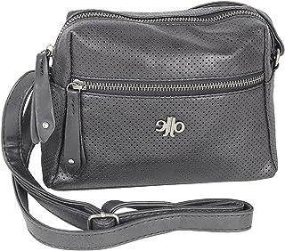 J JONES JENNIFER JONES Damen Handtasche klein Umhängetasche Schultertasche sportlich elegant crossover Tasche