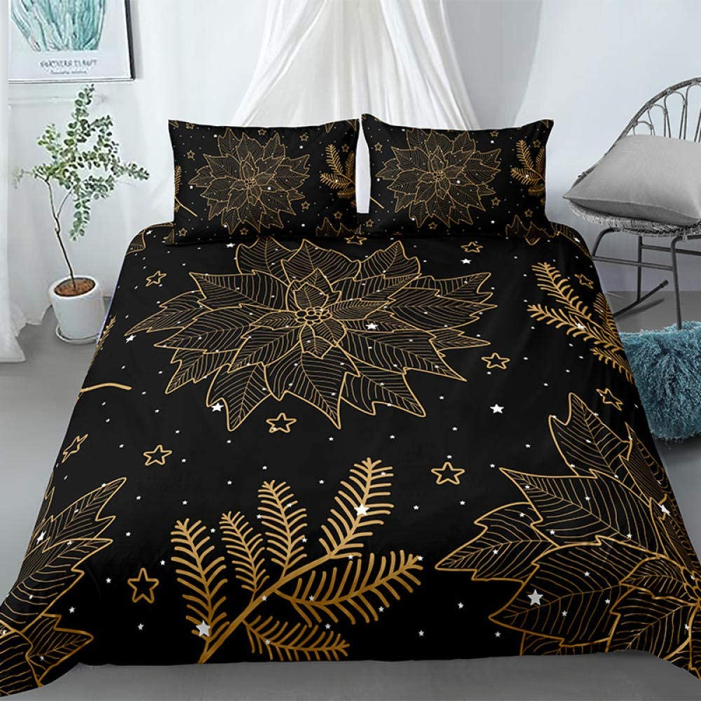 Lightweight Inventory cleanup selling sale Polyester Microfiber Duvet Cover National products Printed Be Set 3pcs