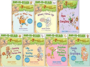 The 7 Habits of Happy Kids Series 7 Books Collection Set By Sean Covey (Just the Way I Am, When I Grow Up, A Place for Eve...
