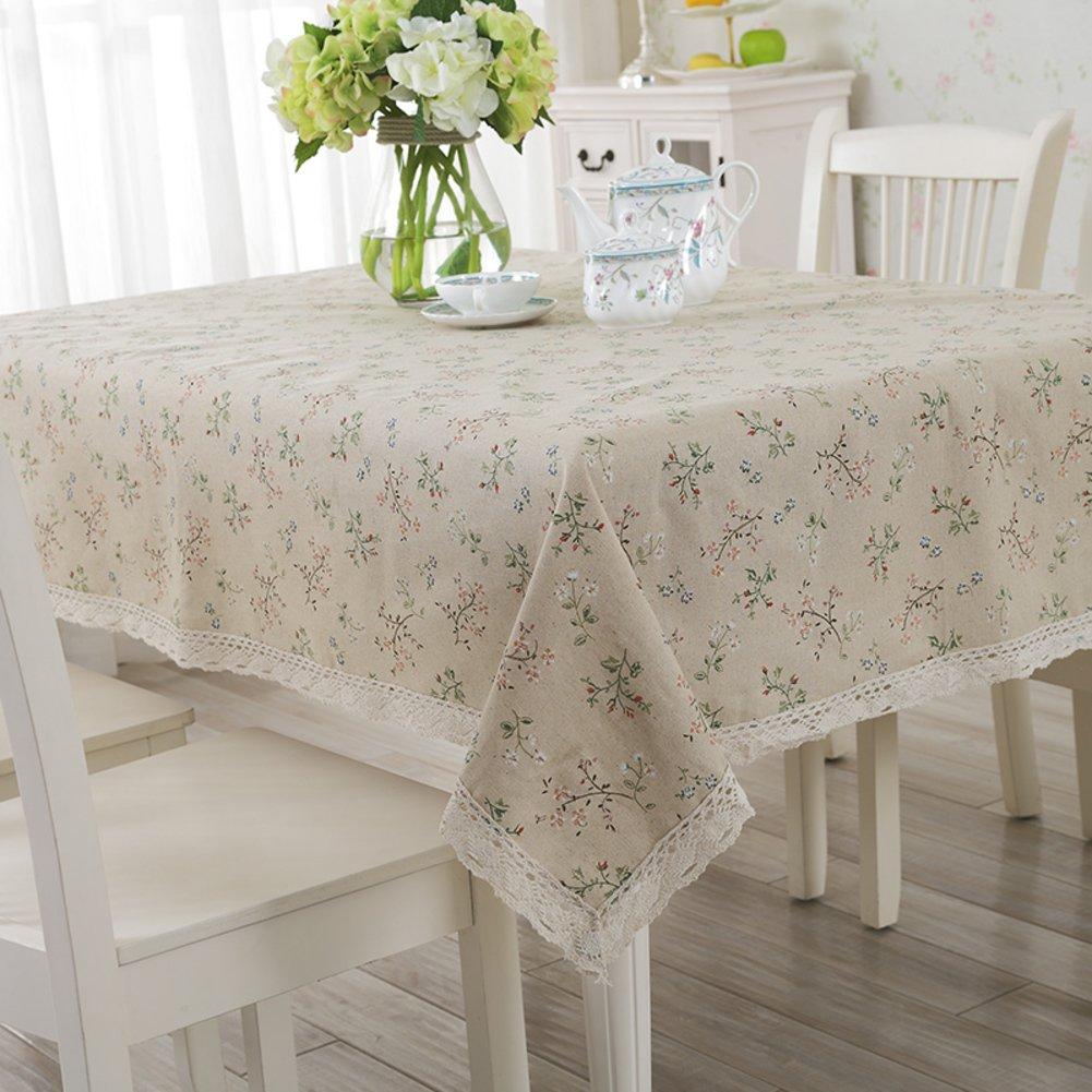 manteles de tela/ servilletas de tela de algodón/ lienzo/Mantel de la mesa al aire libre-B 130x130cm(51x51inch): Amazon.es: Hogar