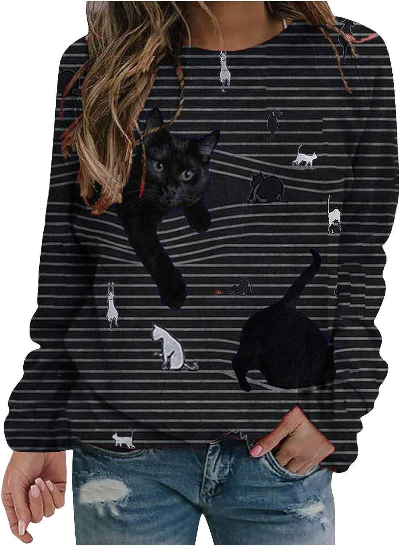 T Shirts for Women Loose Fit,Womens Raglan Plaid Sleeve Tops Christmas Pullover Sweatshirts Santa Printed Blouse