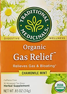 Traditional Medicinal Gas Relief, 16 Teabags, 105662