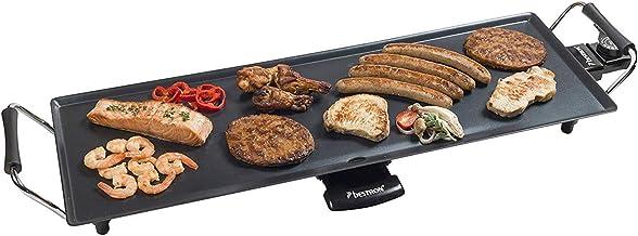 Bestron Elektrische XL Plancha-/Teppanyaki-Grillplatte mit A