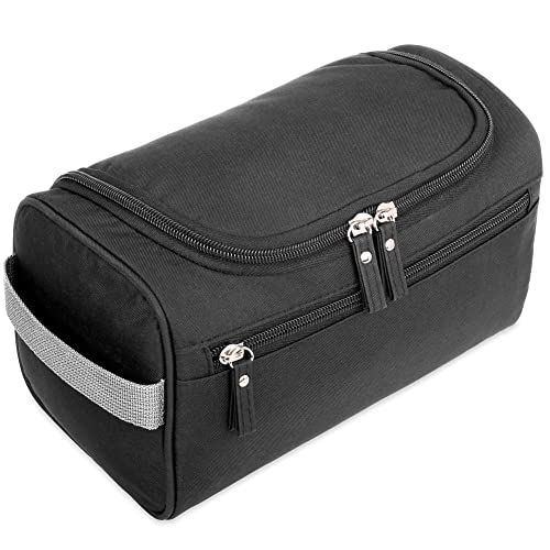 H S Hanging Travel Toiletry Bag Overnight Wash Gym Shaving Bag for Men and  Women Ladies Black b1df05bd14