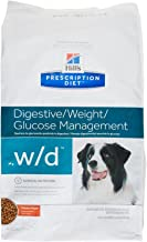 HILL'S PRESCRIPTION DIET w/d Multi-Benefit Digestive/Weight/Glucose/Urinary Management Chicken Flavor Dry Dog Food, 27.5 lb Bag
