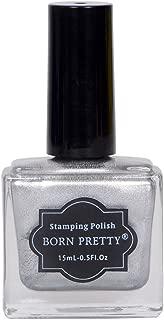 Born Pretty Nail Stamping Nail Polish (Silver)