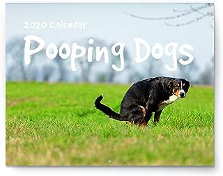 Pooping Dogs Calendar - 2020 Wall Calendar - Large 11