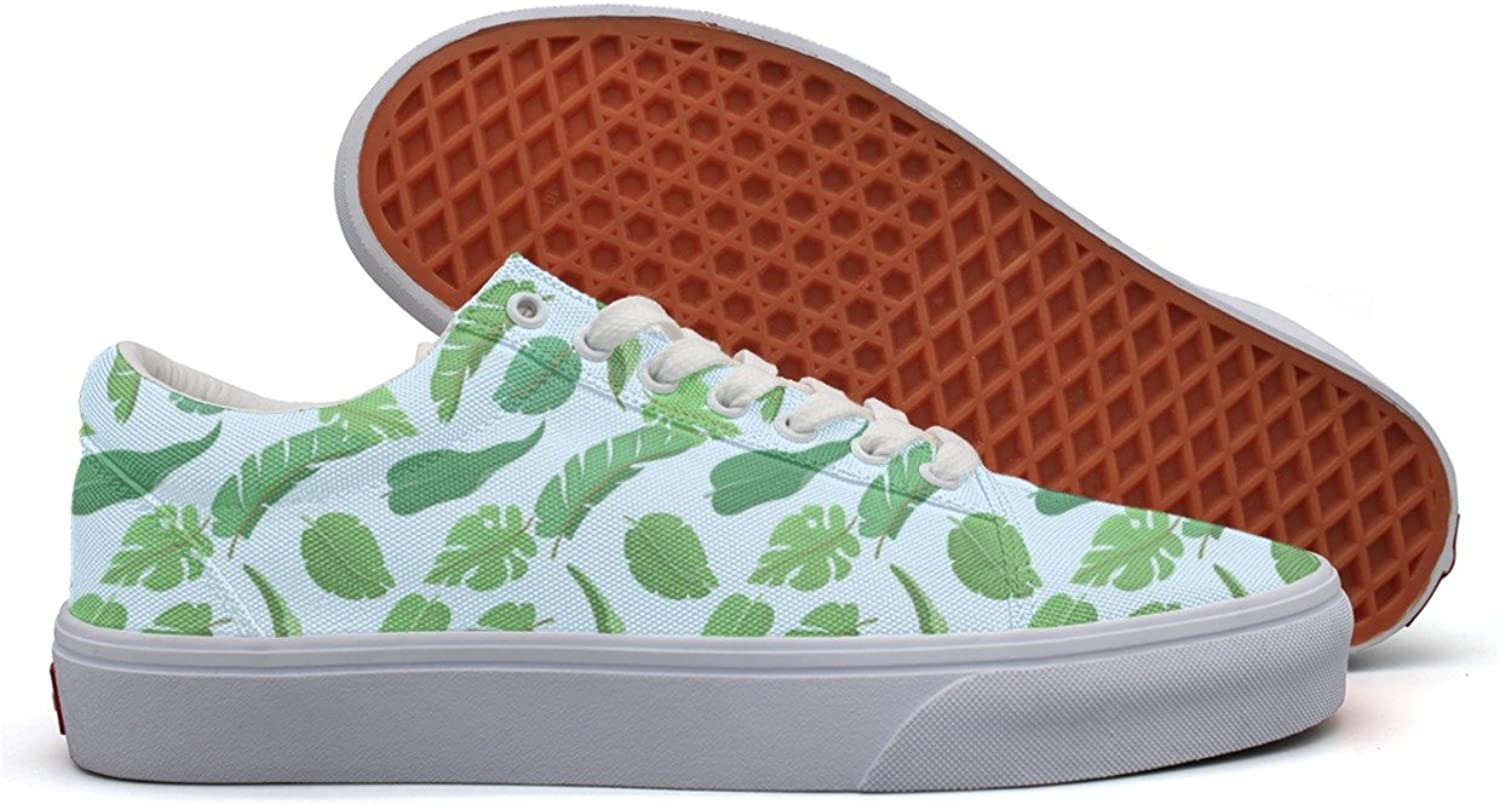 Tropical Plants Leaves Decor Women's Casual shoes Footwear Cool New Designer