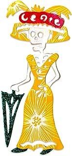 Sizzix 661311 Thinlits Troquel, diseño del Día de los Muertos de la Catrina de Crafty Chica