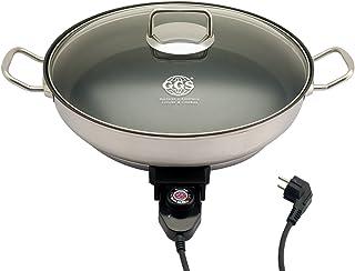 GGS-Solingen 813200005 eléctrico multifunción Fiesta - y Pizza sartén 40 cm Antiadherente