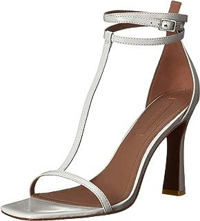 BCBGMAXAZRIA Women's Ina T-Strap Dress Sandal Heeled