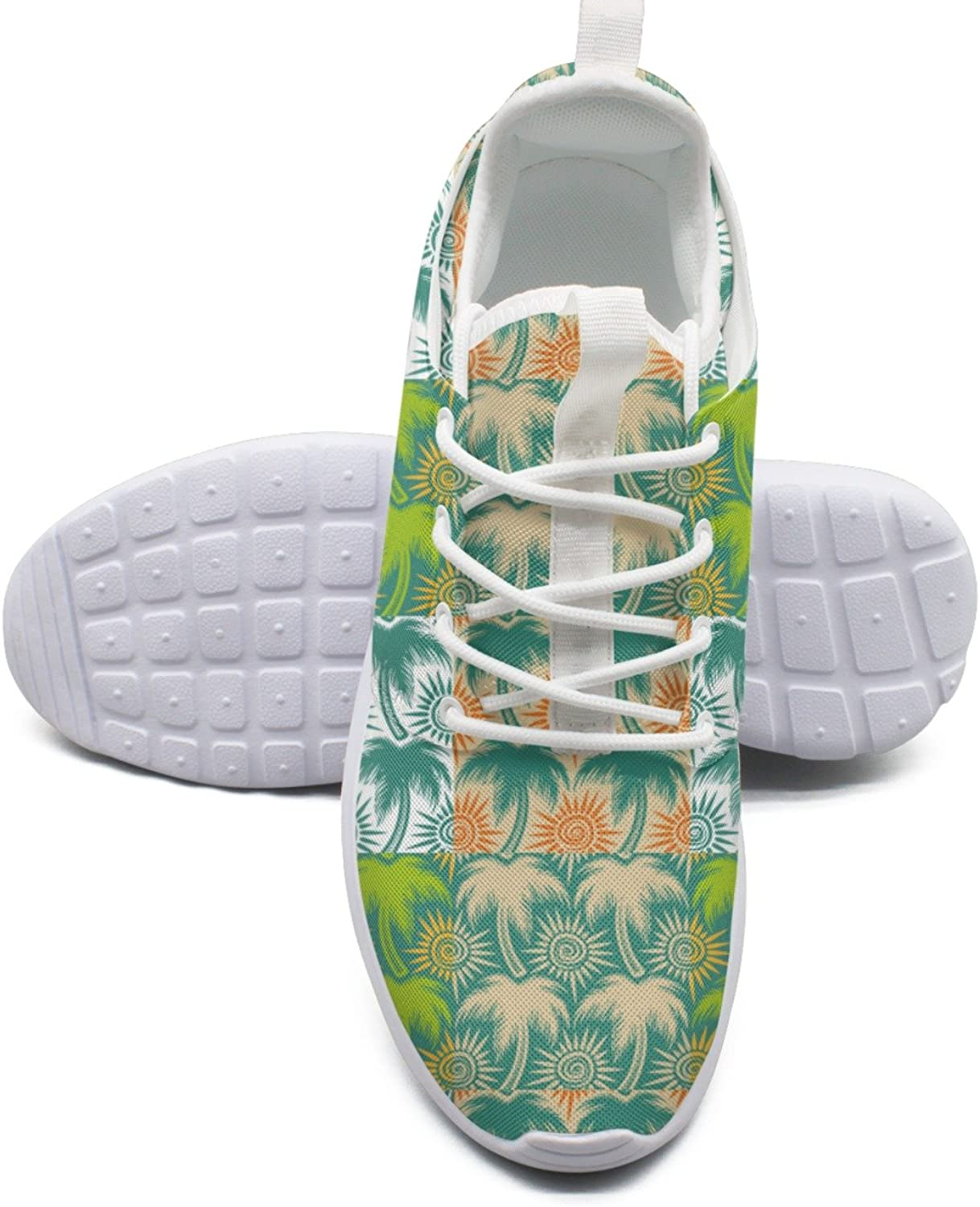 New Palm Trees And Sun Womens Navy Fashion Running shoes