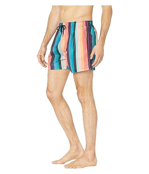 19e683a766 Paul Smith Artist Stripe Classic Swim Shorts at Luxury.Zappos.com