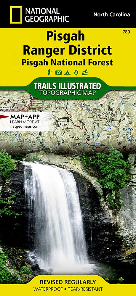 Pisgah Ranger District Pisgah National Forest] (National Geographic Trails Illustrated Map, 780)