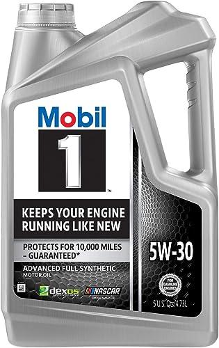 Mobil 1 120764 5W-30 Synthetic Motor Oil - 5 Quart