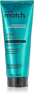 O Boticario Match Respect for Straight Hair Shampoo, 250 ml
