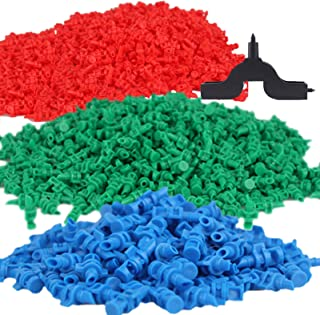 Lhx 90 pcs, 90/180/360 Angle Sprinklers Miniature Garden Lawn Water Spray Atomization Sprinkler Nozzle Irrigation System P...