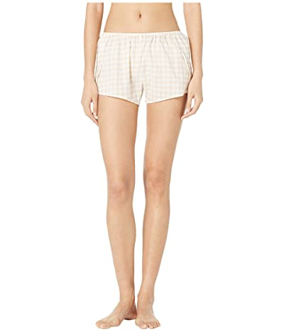 Maison Du Soir Eloise Shorts (Blush Gingham) Women