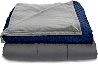 """Quility Premium Kids & Adult Weighted Blanket & Removable Cover 