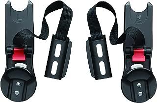 baby jogger (ベビージョガー) 純正アクセサリー カーシートアダプター (ベビーカーにチャイルドシートを装着する為に必要なパーツ) ブラック 2022354