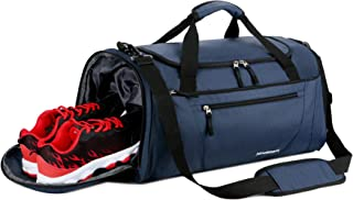099c1785e94a Mouteenoo Gym Bag 40L Sports Travel Duffel Bag for Men and Women with Shoes  Compartment