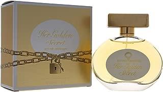 Antonio Banderas Her Golden Secret EDT Spray for Women, 2.7 Ounce