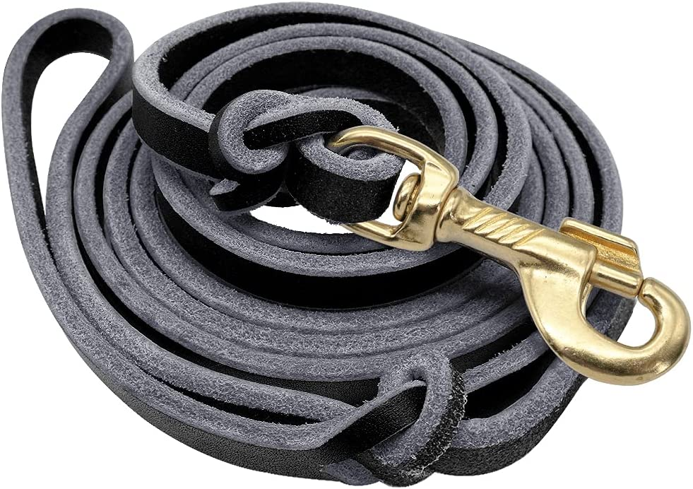 Leash Dog Seasonal Wrap Introduction Shepherd Popularity Genuine Leather Linen Rope Training B for