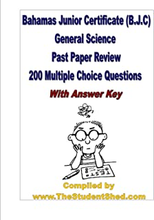 B.J.C General Science Practice Booklet - Multiple Choice Questions (with Answer Key)