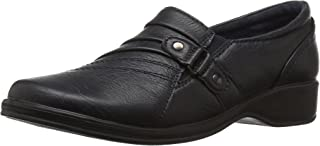 Easy Street Women's Giver Flat, Navy, 5.5 M US