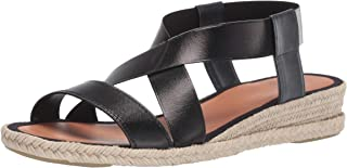 Aquatalia Women's Maggie Calf/Elastic Sandal