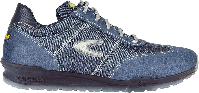 Cofra 78400-001.W40 Size 40 S1 P SRC Brezzi  Safety shoes - bluee