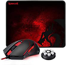 Redragon M601-BA Gaming Mouse and Mouse Pad Combo,...