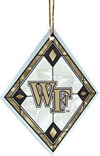 NCAA Wake Forest Demon Deacons Art Glass Ornament