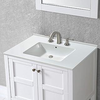 Amazon Com Bathroom Vanity Sink Tops 50 To 100 Vanity Sink Tops Bathroom Sinks Tools Home Improvement