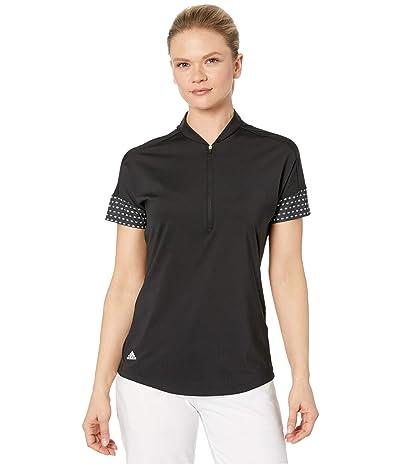 adidas Golf Ultimate365 Printed Polo Shirt (Black) Women