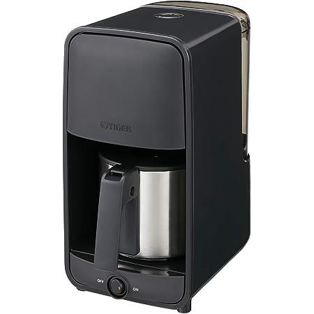 タイガー魔法瓶(TIGER)コーヒーメーカーシャワードリップタイプ 0.81L 6杯用 ブラックADC-N060-K
