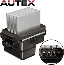 AUTEX ATC HVAC Blower Motor Resistor RU792 27151ZM70A JA1808 Compatible with Infiniti Qx56,Nissan Titan Armada Frontier Xterra Pathfinder 05-12 Replacement for Chrysler 300m Cirrus 98-00