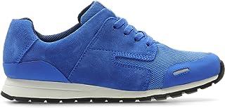 15e92d26337 Clarks - Zapatos de Cordones de Cuero para Mujer Azul Azul