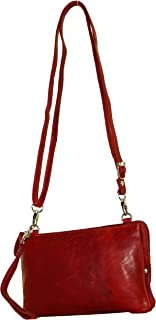 BagzDirect Genuine Leather Oilpullup Small Handbags for Women - Crossbody Bag for Women SEOP821