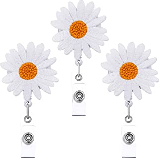 daisy badge reel