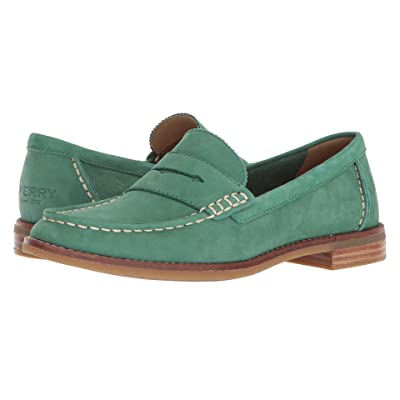 Sperry Seaport Penny (Green) Women