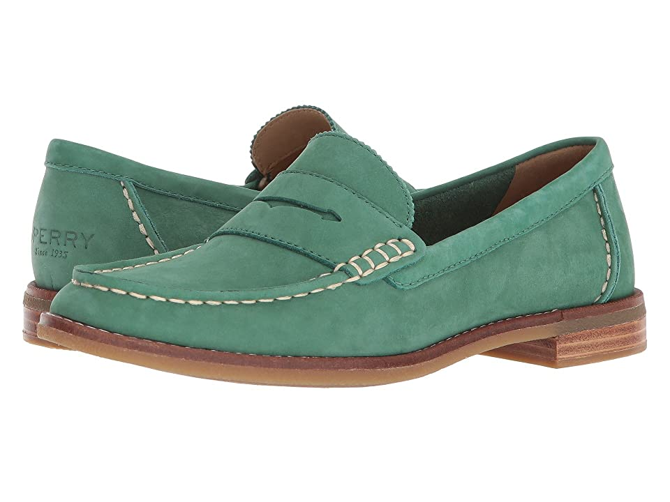 Sperry Seaport Penny (Green) Women