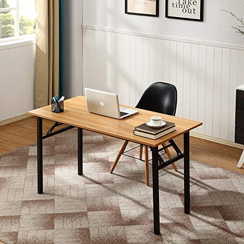 Need Office Computer Desk - 120cm L Sturdy and Heavy Duty Folding Laptop Table,Writing Table/Home Office Desk/Sewing ...
