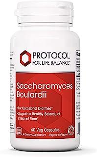 Protocol For Life Balance - Saccharomyces Boulardii - Supports a Healthy Balance of Intestinal Flora, GI Tract Relief, Ups...
