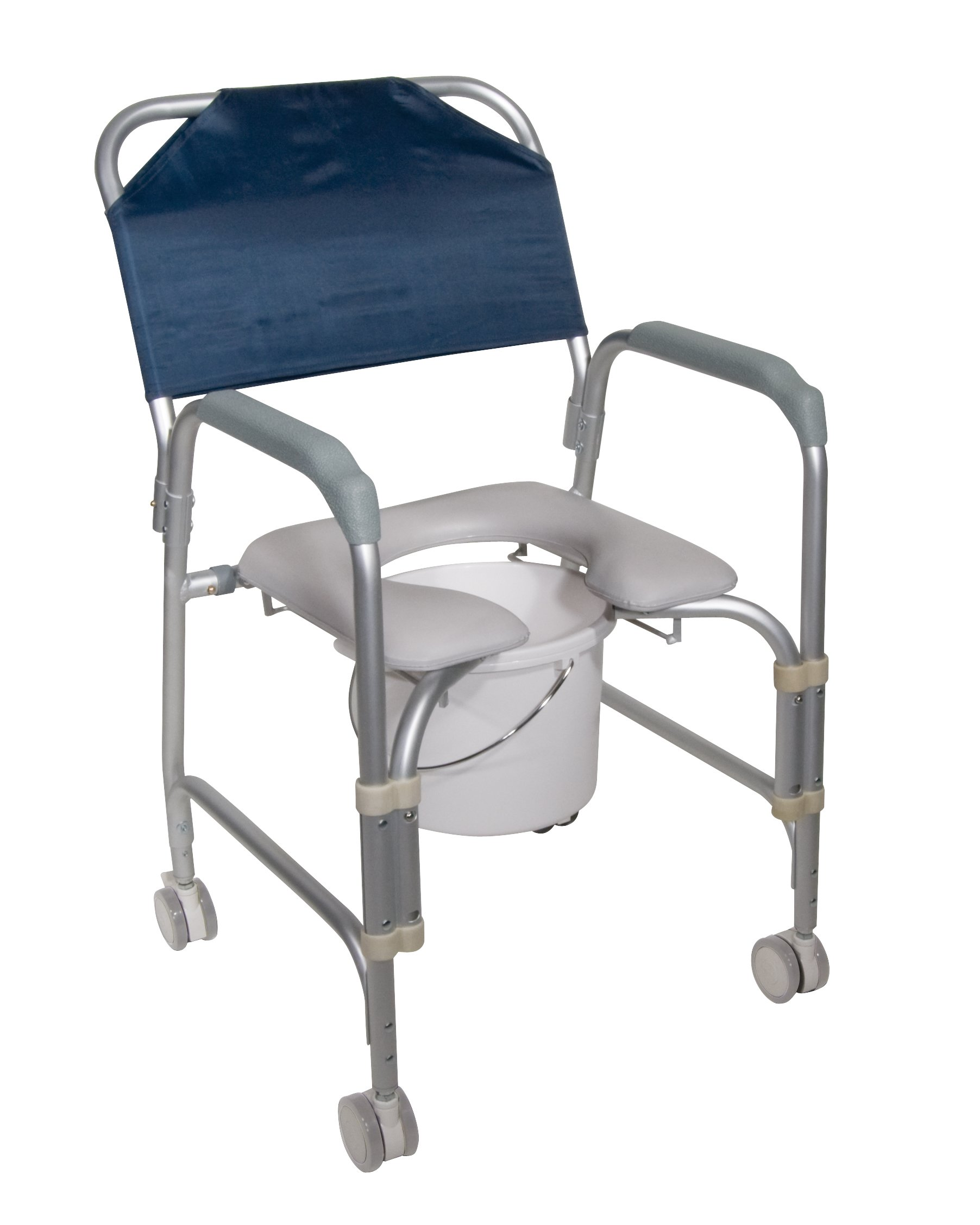 Drive Medical Aluminum Commode Casters