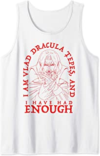 Netflix Castlevania I Am Dracula And I Have Had Enough Débardeur