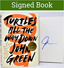 Turtles All the Way Down AUTOGRAPHED John Green (SIGNED BOOK) COA